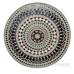 Mesa de mosaico árabe