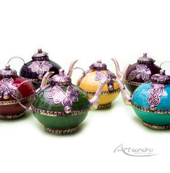 teteraspequeñasTeteritas árabes de alpaca y cerámica