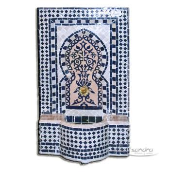 Fuente de mosaico árabe Féz