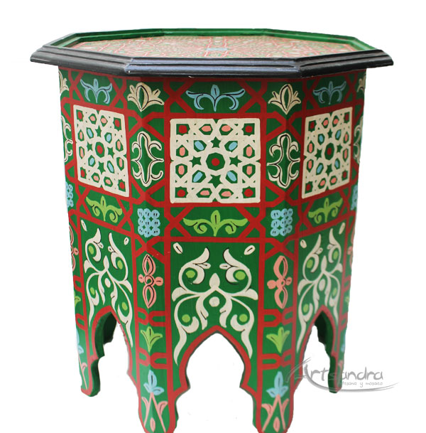 Comprar mesa rabe de madera tazenakht barata gran calidad - Comprar decoracion arabe ...
