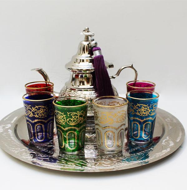 Comprar juego de t rabe haritha barato online env os gratis for Vasos de te